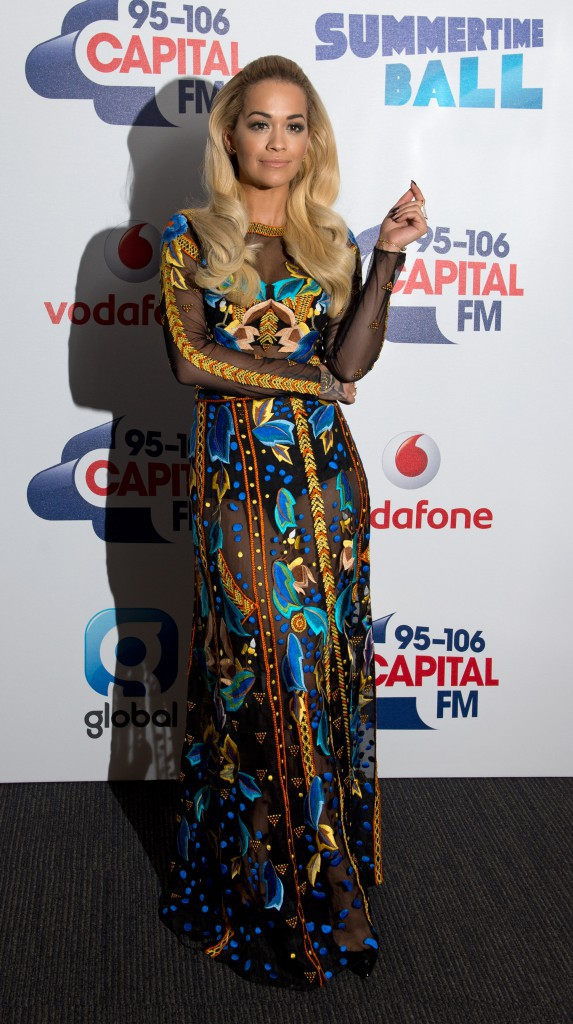 Rita Ora le 6 juin 2015