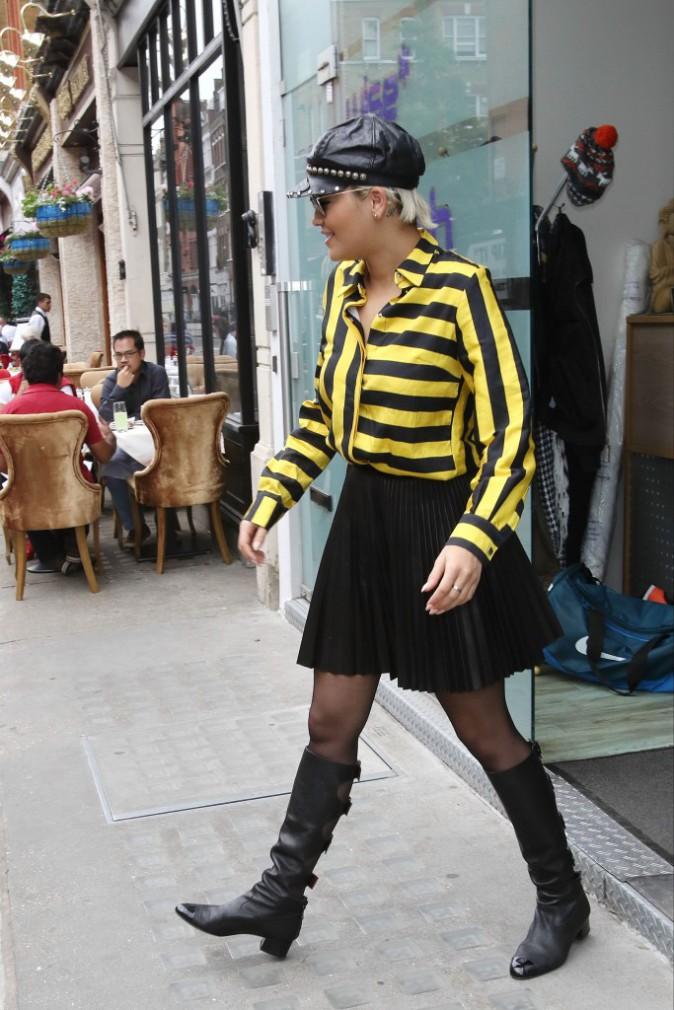 Rita Ora le 12 juin 2015