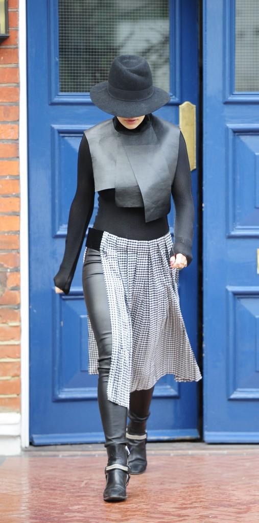 Rita Ora le 25 mars 2015