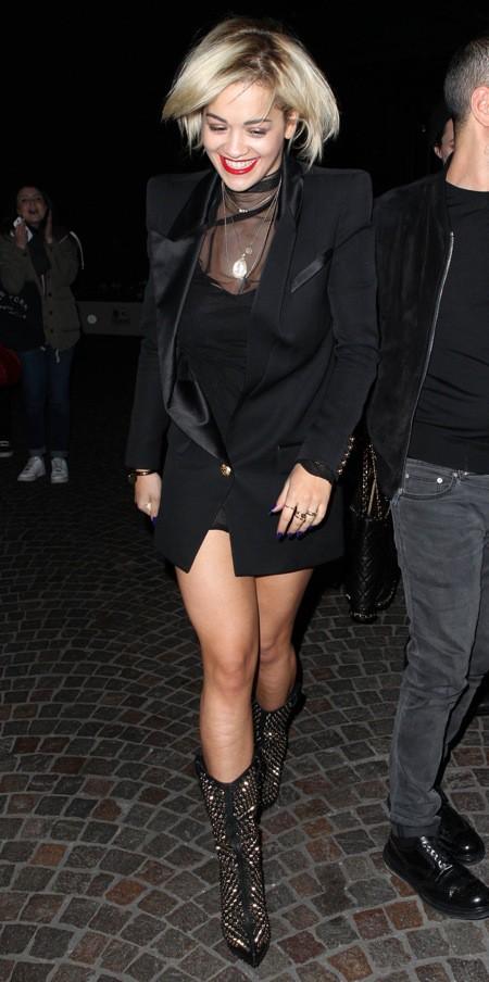 Rita Ora, hier à Milan