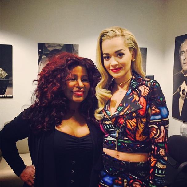 Rita Ora et Chaka Kan le 9 décembre 2014