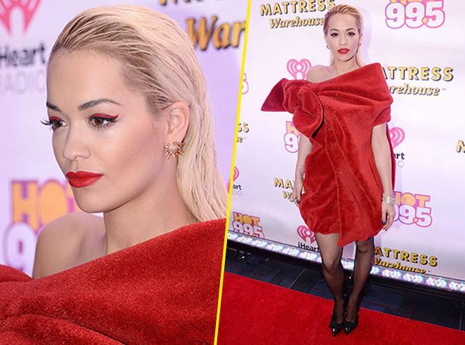 Rita Ora le 15 décembre 2014