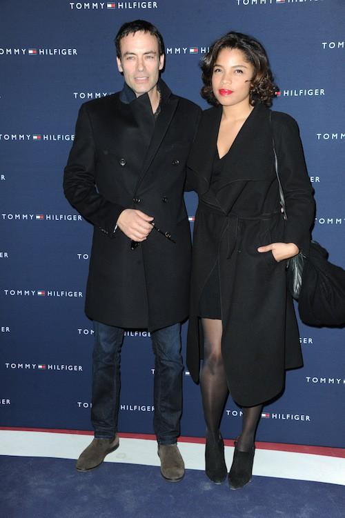Anthony Delon et sa compagne