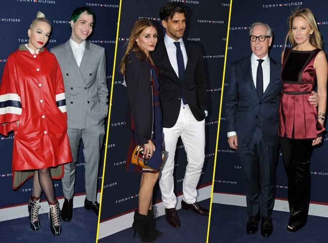Rita Ora, Olivia Palermo, Tommy Hilfiger... Soirée couples à Paris !