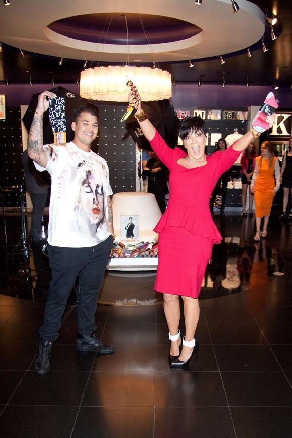 Rob Kardashian à Las Vegas pour le lancement de sa ligne de chaussettes le 16 mars 2013