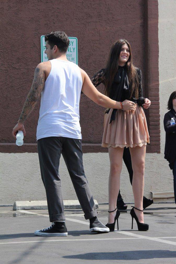 Rob et sa petite soeur Kylie il y a quelques années