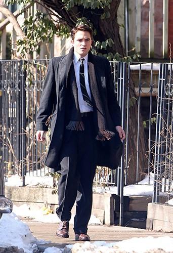 Robert Pattinson à Toronto le 19 février 2014