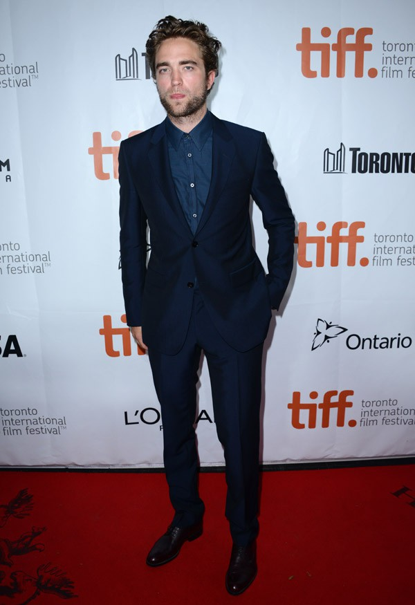 Robert Pattinson au Festival international du film de Toronto le 9 septembre 2014