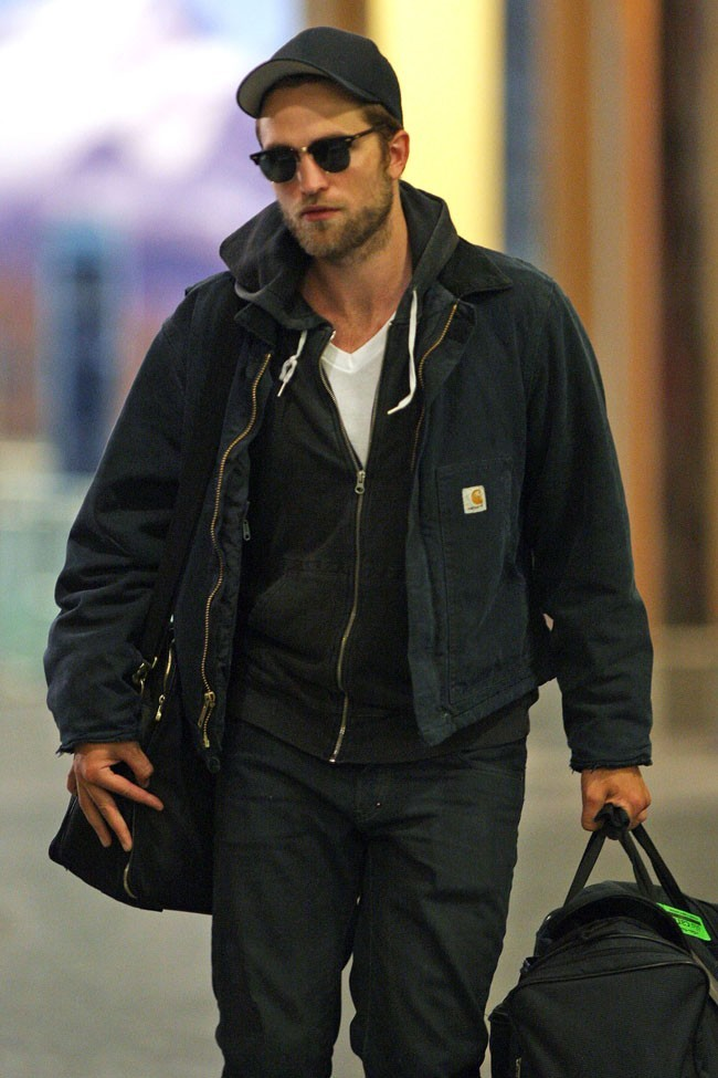 Robert Pattinson le 29 avril 2012 à Vancouver