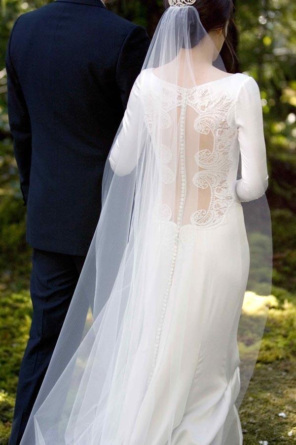La robe de Kristen Stewart, sublime...