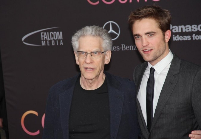 Avec le réalisateur David Cronenberg
