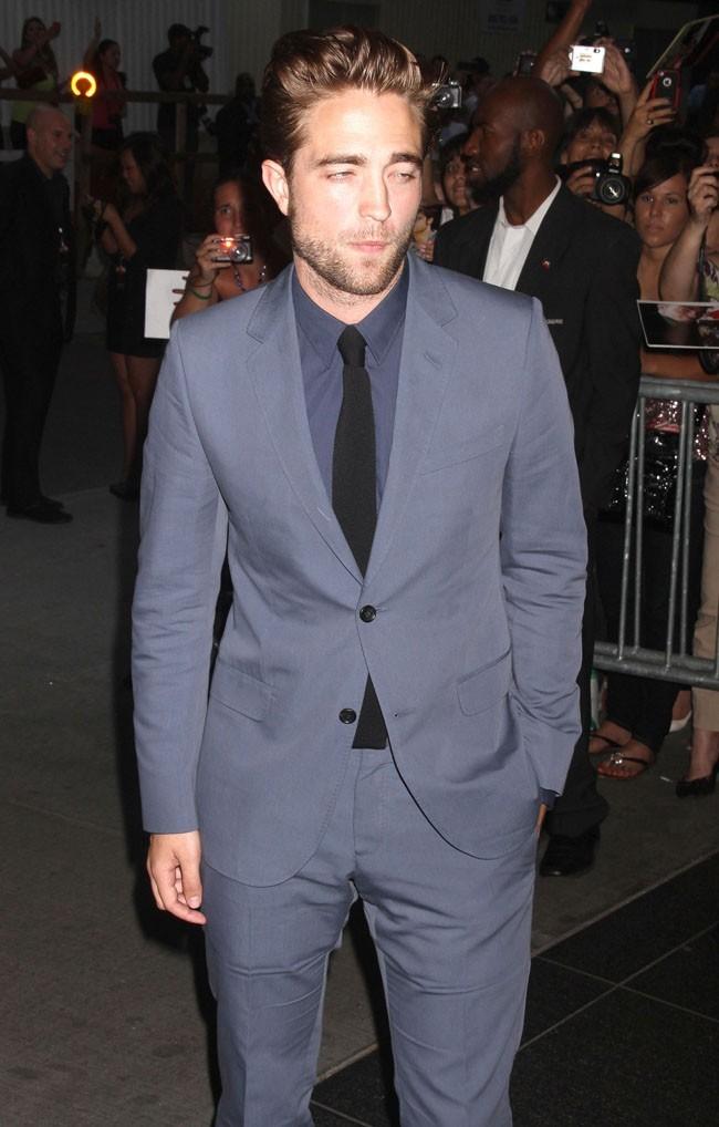 Robert Pattinson lors de la première de Cosmopolis le 13 août 2012 à New York