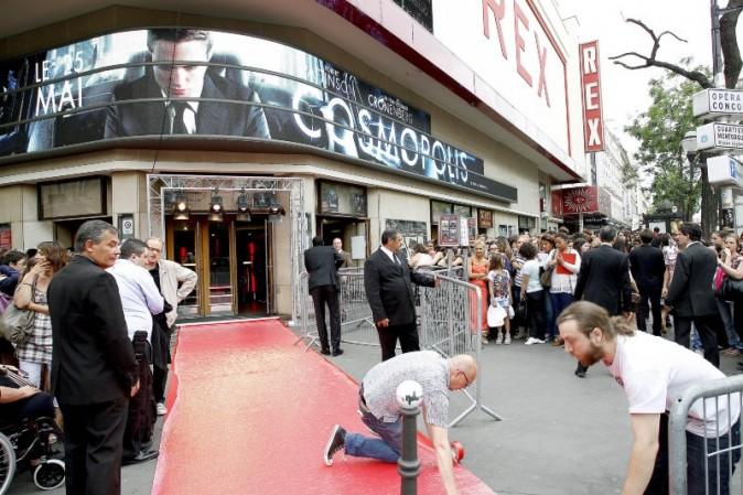 Première de Cosmopolis à Paris, le 30 mai 2012.