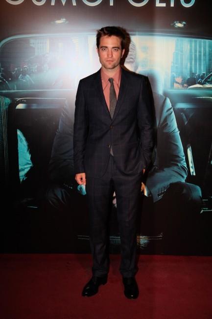 Robert Pattinson lors de la première de Cosmopolis à Paris, le 30 mai 2012.