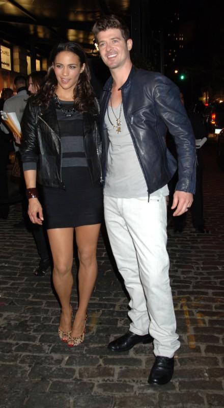 Robin Thicke et Paula Patton le 09 septembre 2010 !