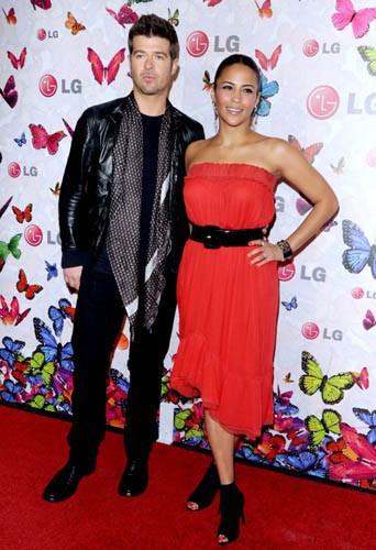 Robin Thicke et Paula Patton le 29 avril 2009 !
