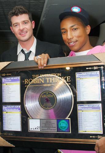 Robin Thicke et Pharrell Williams en 2007
