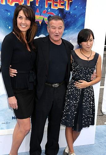 Susan Schneider, Robin Williams et sa fille Zelda
