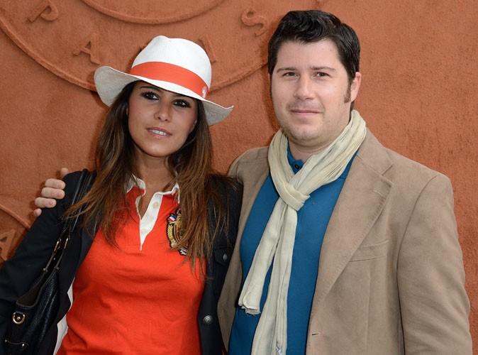Roland Garros 2014 : Karine Ferri : nouvelle apparition colorée en compagnie de son frère !