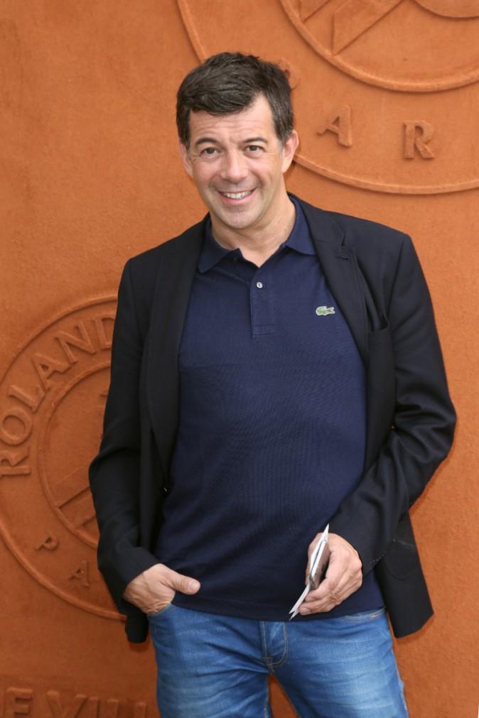 Stéphane Plaza à Roland Garros le 26 mai 2015