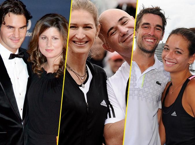Les plus beaux couples du tennis