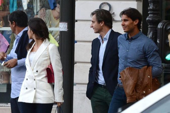 Rafael Nadal fête ses 28 ans à Paris le 3 juin 2014