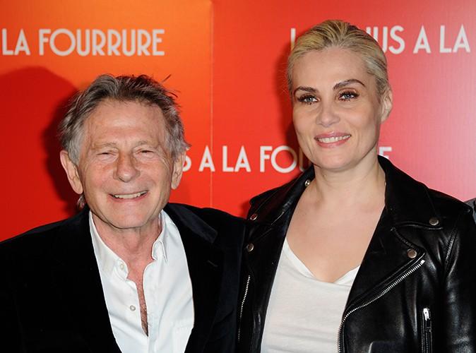 Roman Polanski et Emmanuelle Seigner à Paris le 4 novembre 2013