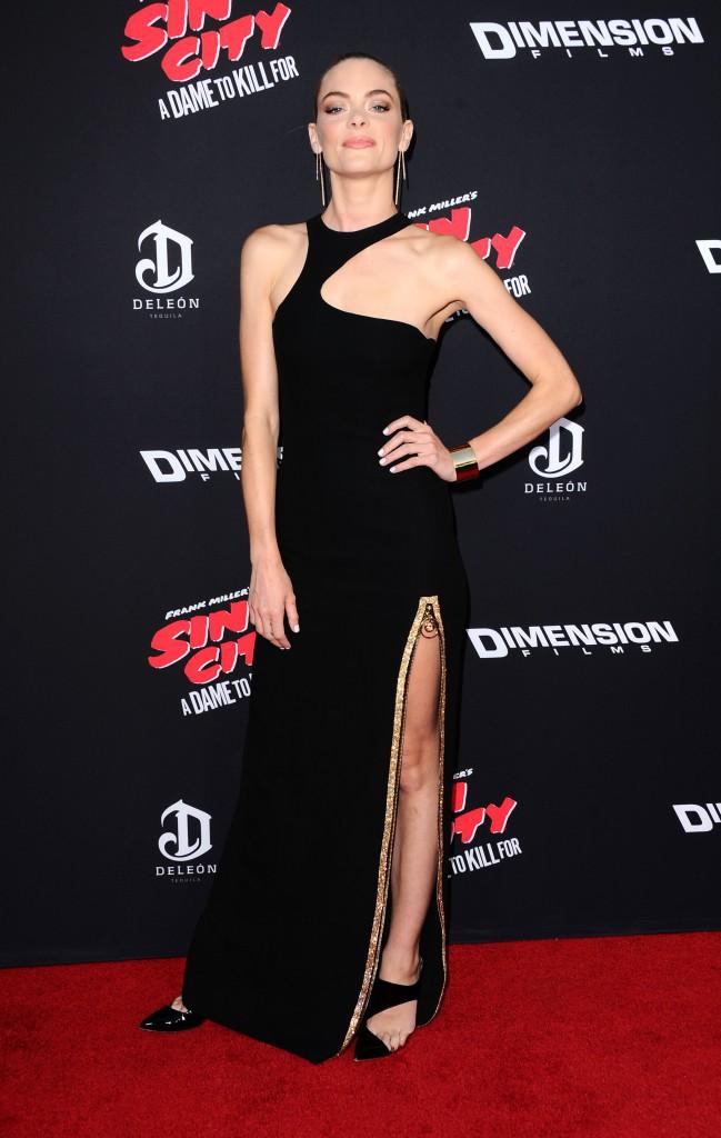 Jamie King sur le tapis rouge de l'avant-première de Sin City 2, à Los Angeles, le 19 août 2014 !