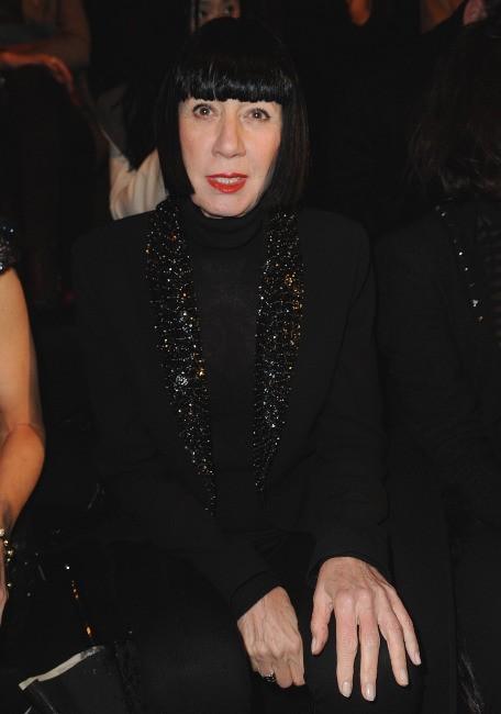 Chantal Thomass au défilé Elie Saab à Paris, le 7 mars 2012.