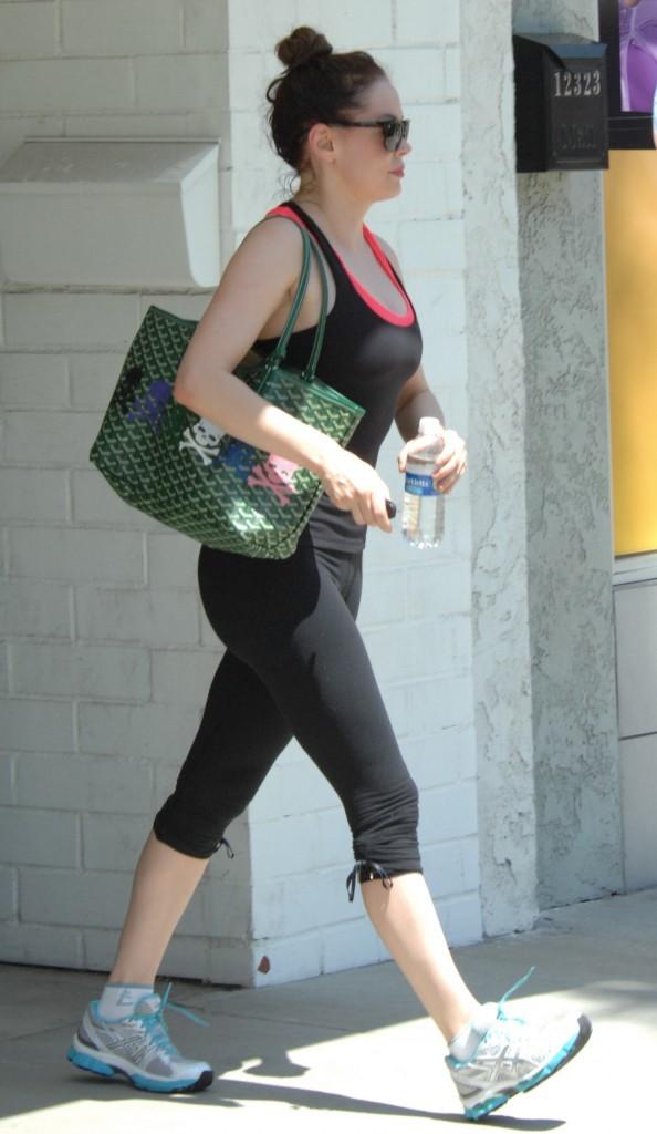 Rose McGowan, Los Angeles, 17 août 2012