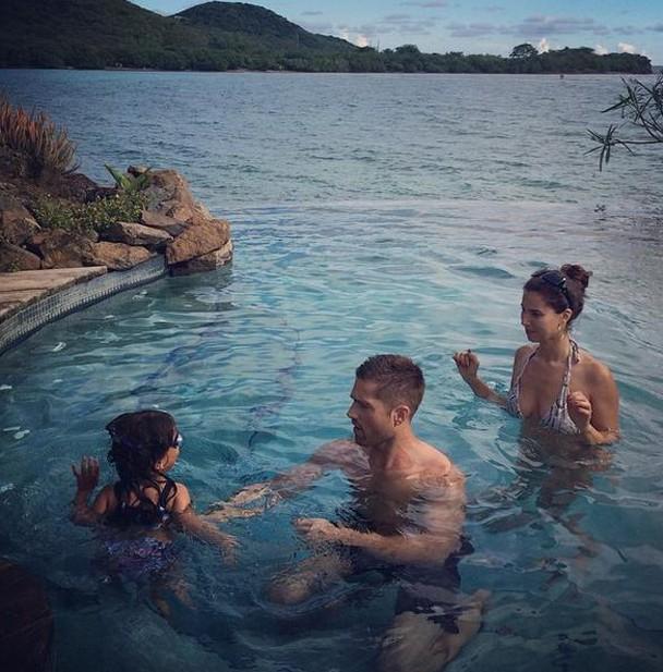Roselyn Sanchez et ses vacances en famille à Porto Rico