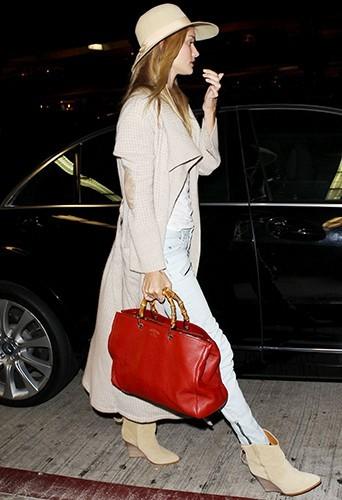 Rosie Huntington-Whiteley à Los Angeles le 6 juillet 2013