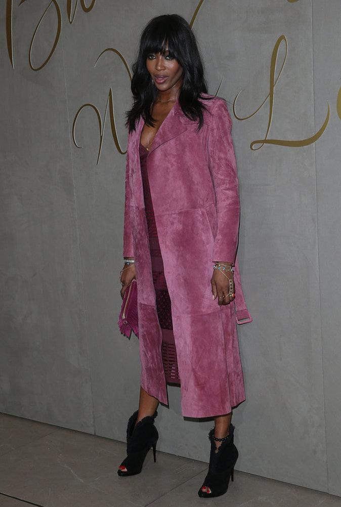 Naomi Campbell le 3 novembre 2015