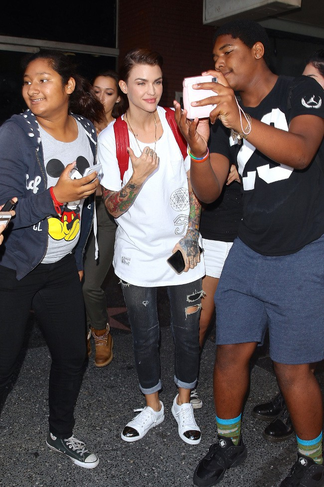 Ruby Rose à Los Angeles le 26 juillet 2015