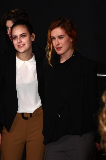 Rumer Willis et Tallulah Belle Willis le 31 janvier 2013 à Los Angeles