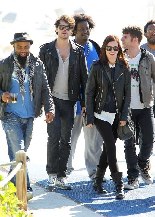 Rumer Willis à Miami avec son boyfriend Jayson Blair le 8 novembre 2012