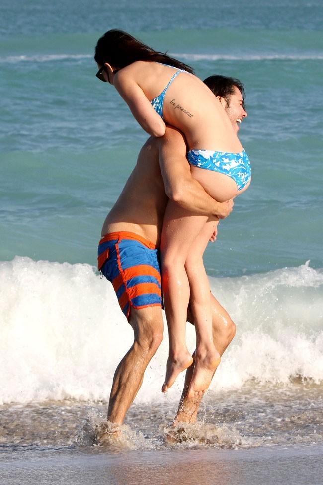 Rumer Willis à Miami avec son boyfriend le 8 novembre 2012
