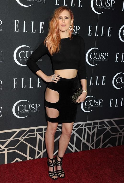 Rumer Willis à la soirée Elle Women in Music Celebration organisée à Los Angeles le 22 avril 2014
