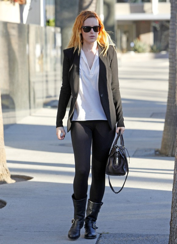 Rumer Willis, Los Angeles, 18 janvier 2013.