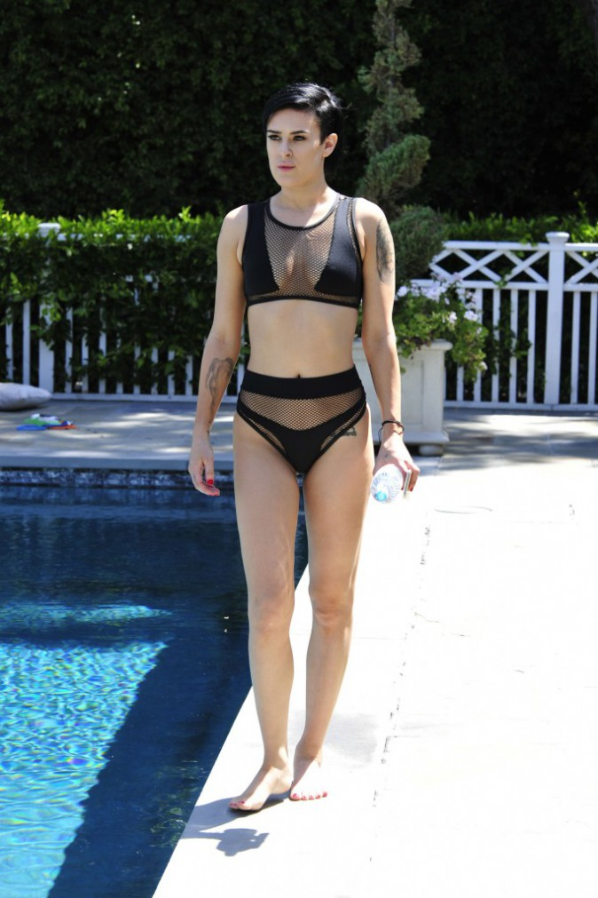 Rumer Willis à Los Angeles, le 2 juillet 2015