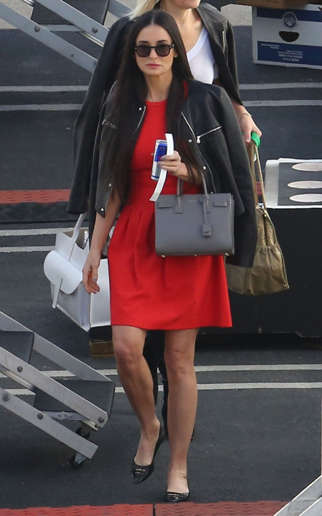 Demi Moore à Hollywood le 19 mai 2015