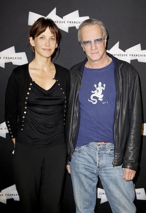 Sophie Marceau et Christophe Lambert à l'avant première du film J'enrage de son absence en juin 2012