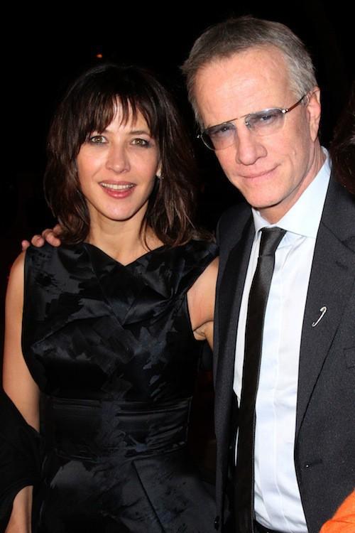 Sophie Marceau et Christophe Lambert au festival du film de Marrackech en décembre 2010