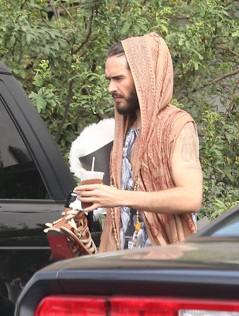 Russell Brand, Los Angeles, 12 septembre 2012.