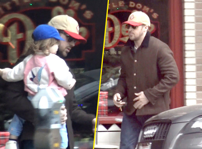 Ryan Gosling : moment câlin avec sa petite Esmeralda !