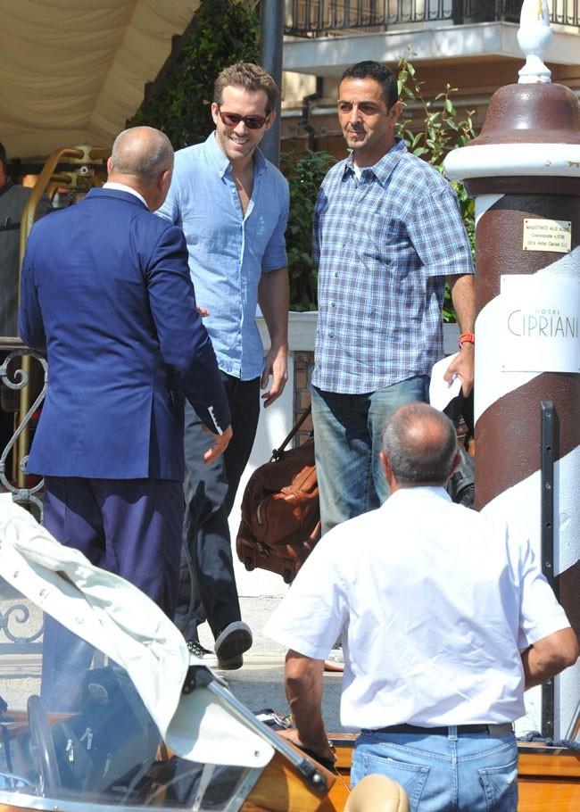 Ryan Reynolds le 2 septembre 2012 à Venise