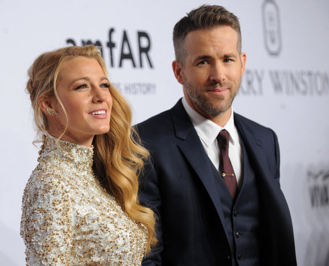 Ryan Reynolds : le jour o� Blake Lively dina�t avec un autre !