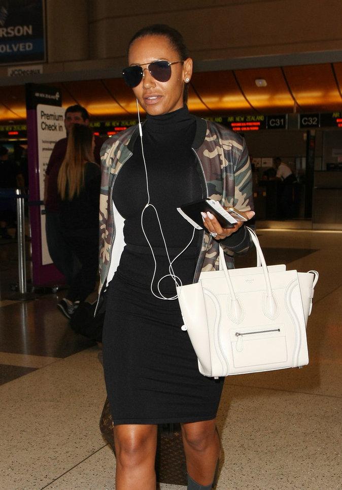 Le sac de luxe comme Mel B