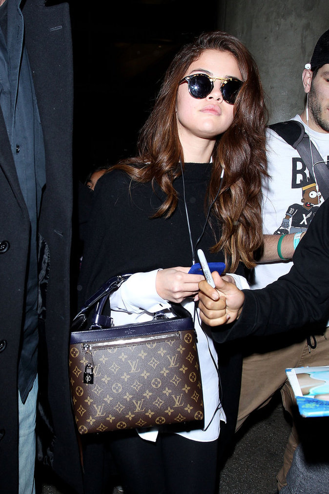Le sac de luxe comme Selena Gomez