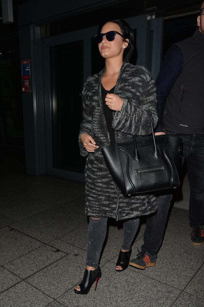 Les talons hauts comme Demi Lovato